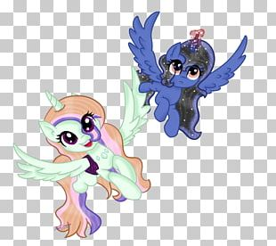 Horse Fairy Illustration Figurine PNG