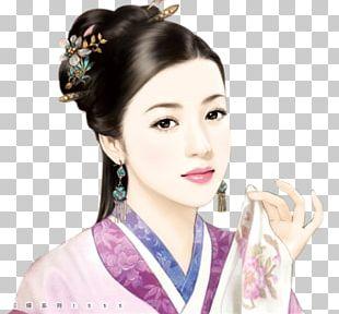Liu Shishi Zhang Xiao Qing'er Art PNG
