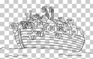 Noah's Ark Bible Story Coloring Book Child PNG