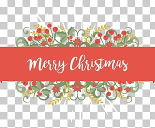 Christmas Card Flower Greeting Card PNG