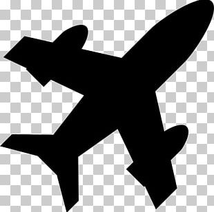 Airplane Black And White Hypnosis PNG