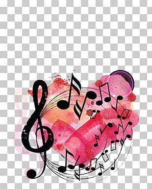Musical Note Poster Background Music PNG