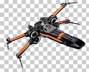 Poe Dameron Lego Star Wars: The Force Awakens X-wing Starfighter PNG
