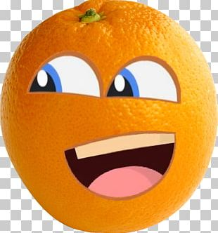 Orange Smile Pumpkin Fruit PNG