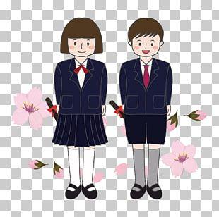 School Uniform Human Behavior Cartoon PNG