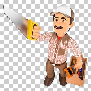 Carpenter Wood 3D Computer Graphics Illustration PNG