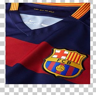 Jersey 2015–16 FC Barcelona Season Nike Football PNG