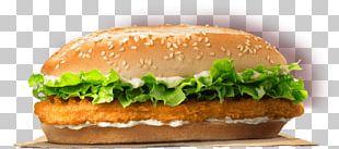 Chicken Fingers Hamburger Burger King Specialty Sandwiches Chicken Nugget PNG
