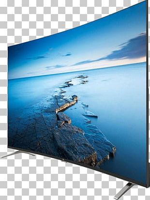 Television Set LED-backlit LCD LCD Television Liquid-crystal Display PNG