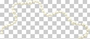 Pearl Material Necklace Body Piercing Jewellery Jewelry Design PNG
