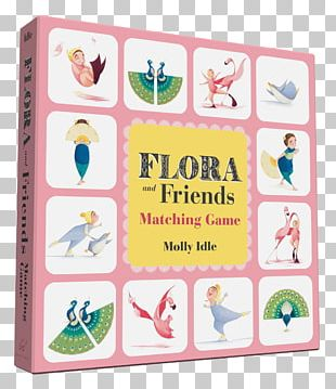 Flora And Friends Matching Game Flora And The Peacocks Flora And The Flamingo Amazon.com PNG