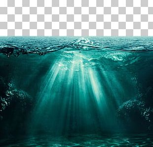 Light Ocean Underwater Deep Sea PNG