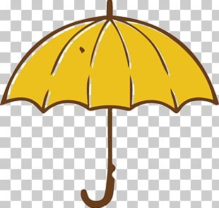 Umbrella Yellow PNG