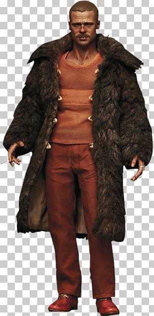 Brad Pitt Tyler Durden Fight Club Fur Clothing Action & Toy Figures PNG