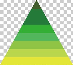 Triangle Green Statistics Data PNG