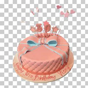 Birthday Cake Sugar Cake Torte Frosting & Icing PNG