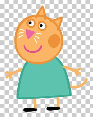 Daddy Pig Mummy Pig Cat Mr. Elephant PNG