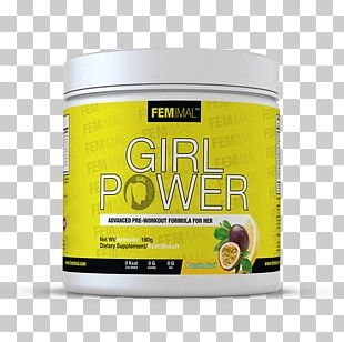 Girl Power Woman Dietary Supplement .se PNG