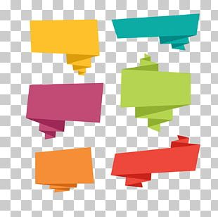 Speech Balloon Origami Microsoft PowerPoint PNG
