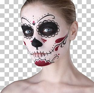 Day Of The Dead Halloween Death Calavera Costume PNG