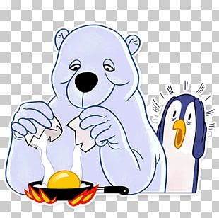Polar Bear Sticker Animal PNG