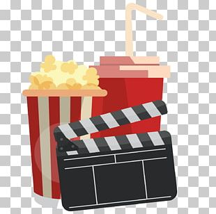 Popcorn Cinema PNG