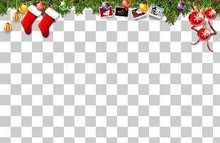 Santa Claus Christmas Earring Gift Brooch PNG
