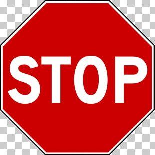 Stop Sign Regulatory Sign Traffic Sign Floor Marking Tape PNG