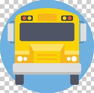 School Bus Bus Stop Transport PNG
