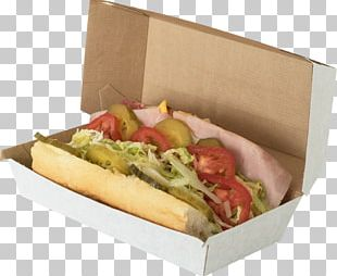 Hot Dog Take-out Packaging And Labeling Food Packaging PNG