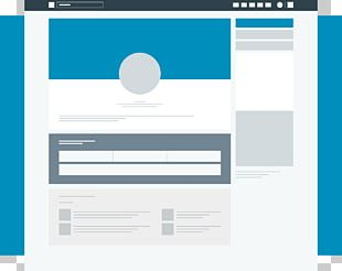 Mockup Logo Social Media LinkedIn PNG