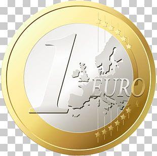 1 Euro Coin Euro Coins 100 Euro Note PNG