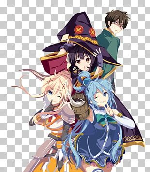 KonoSuba Desktop High-definition Television PNG
