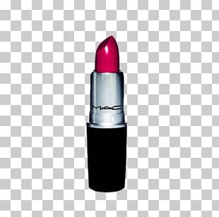 Lipstick MAC Cosmetics Red Color PNG