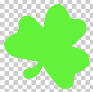 Shamrock Saint Patricks Day Green PNG
