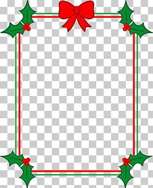 Christmas Tree Christmas Lights Christmas Card PNG