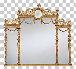 Frames Mirror Decorative Arts Adam Style Fireplace Mantel PNG