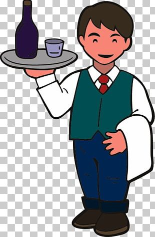 Waiter Foodservice Paper Clip Chef PNG