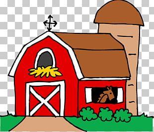 Barn Silo Farm PNG