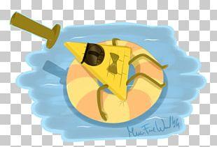 Bill Cipher Fan Art Illustration PNG