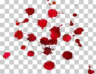 Blood Drop Red PNG
