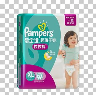 Diaper Pampers Infant Child Goods PNG