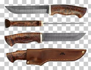 Bowie Knife Hunting & Survival Knives Blade Puukko PNG