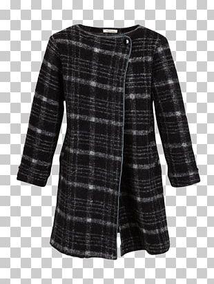 Tartan Coat Outerwear Sleeve Dress PNG