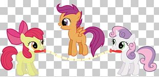 Pony Apple Bloom Rarity Sweetie Belle Rainbow Dash PNG