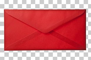 Paper Red Envelope Mail PNG