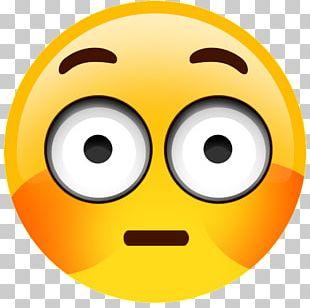 Blushing Flushing Emoji Sticker Embarrassment PNG
