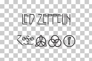 Led Zeppelin IV Logo Swan Song Records PNG