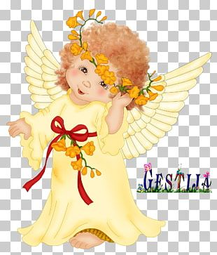 Cherub Guardian Angel Infant PNG