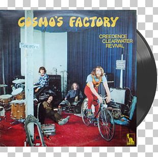 Cosmo's Factory Creedence Clearwater Revival Phonograph Record LP Record Album PNG